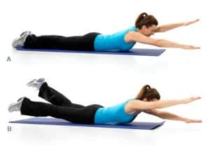 Vežbe u teretani: najbolji izbor za leđa