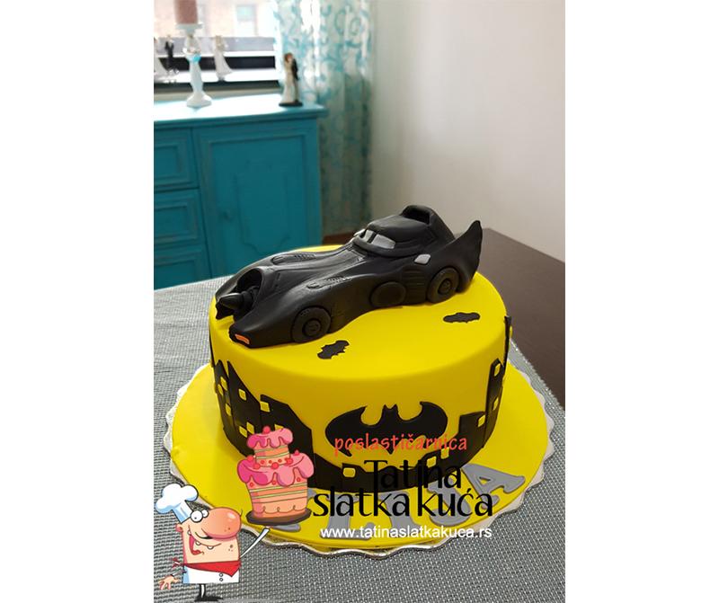 Dečije torte Betmobile