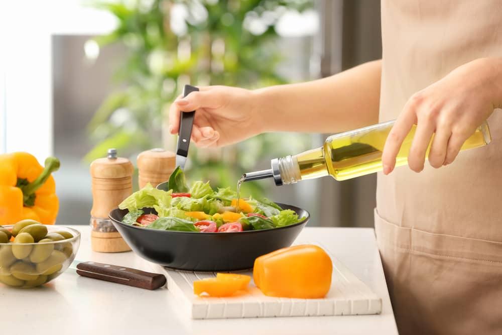 Zdrava hrana salata